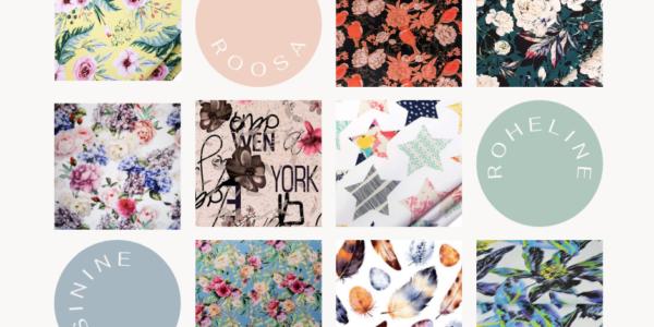 Kevad-suvised kangad: uued ideed inspiratsiooniks